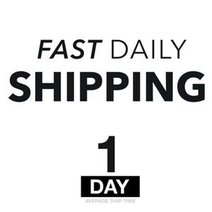 Other - FAST DAILY SHIPPING - 1 DAY Avg.